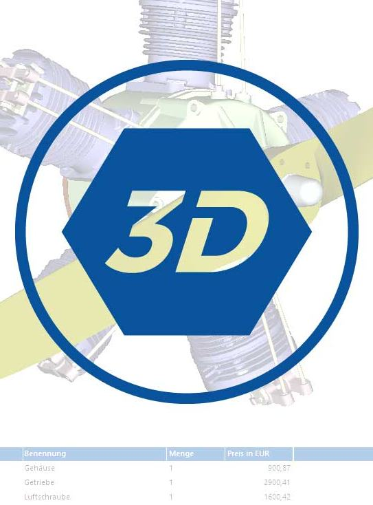 3D-models in spare parts catalogue